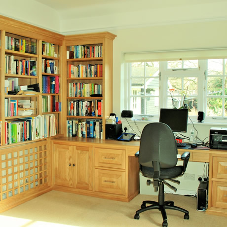 bespoke Study Furniture Harpenden